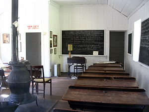 Interior of District School No. 9