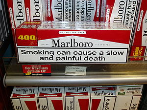 Marlboro warning death