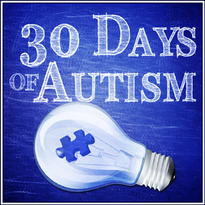 30 Days of Autism Awareness Month Challenge Begins at the Cafe