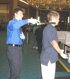 English: TSA Passenger Screening