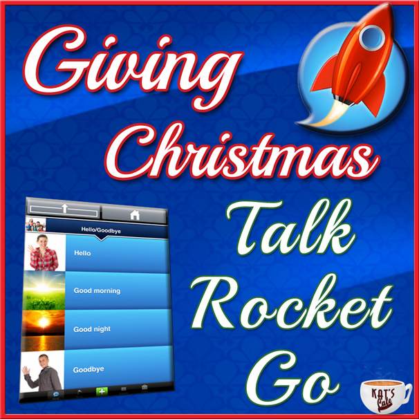 Talk Rocket Go AAC iPad App for Children with Special Needs