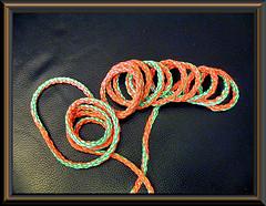 tube style shoelace