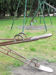 teeter totter & swings