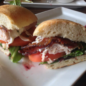 Turkey, Brie & Bacon Sandwich @ Crave Kitchen & Bar