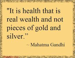 health quote - gandhi